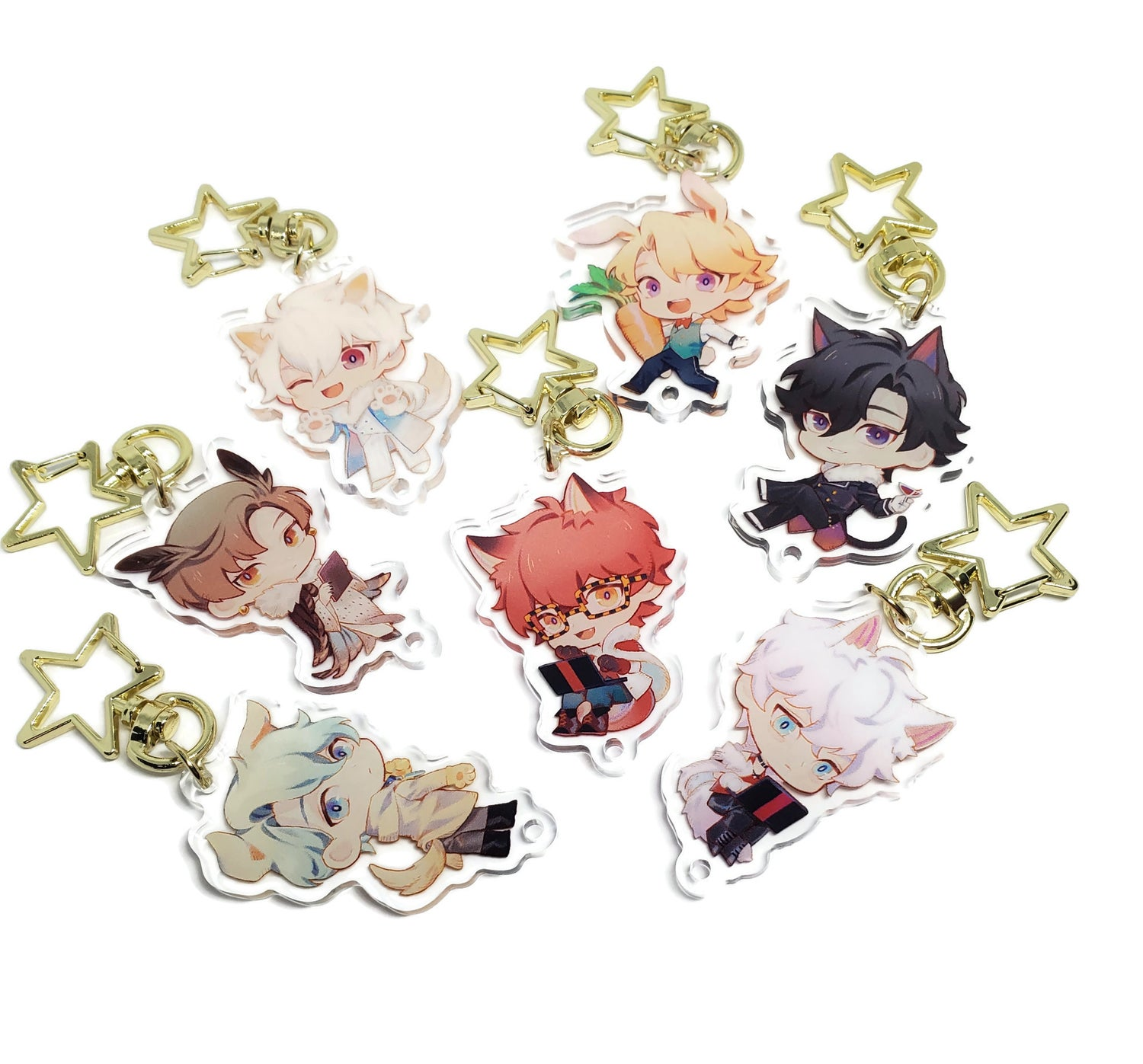 Image of Zoo Party MM Keychains