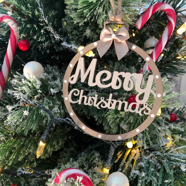 Image of Merry Christmas Bauble