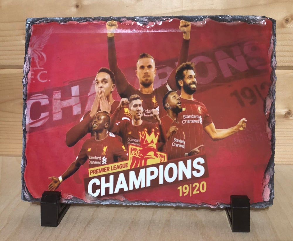 Liverpool Champions Slate
