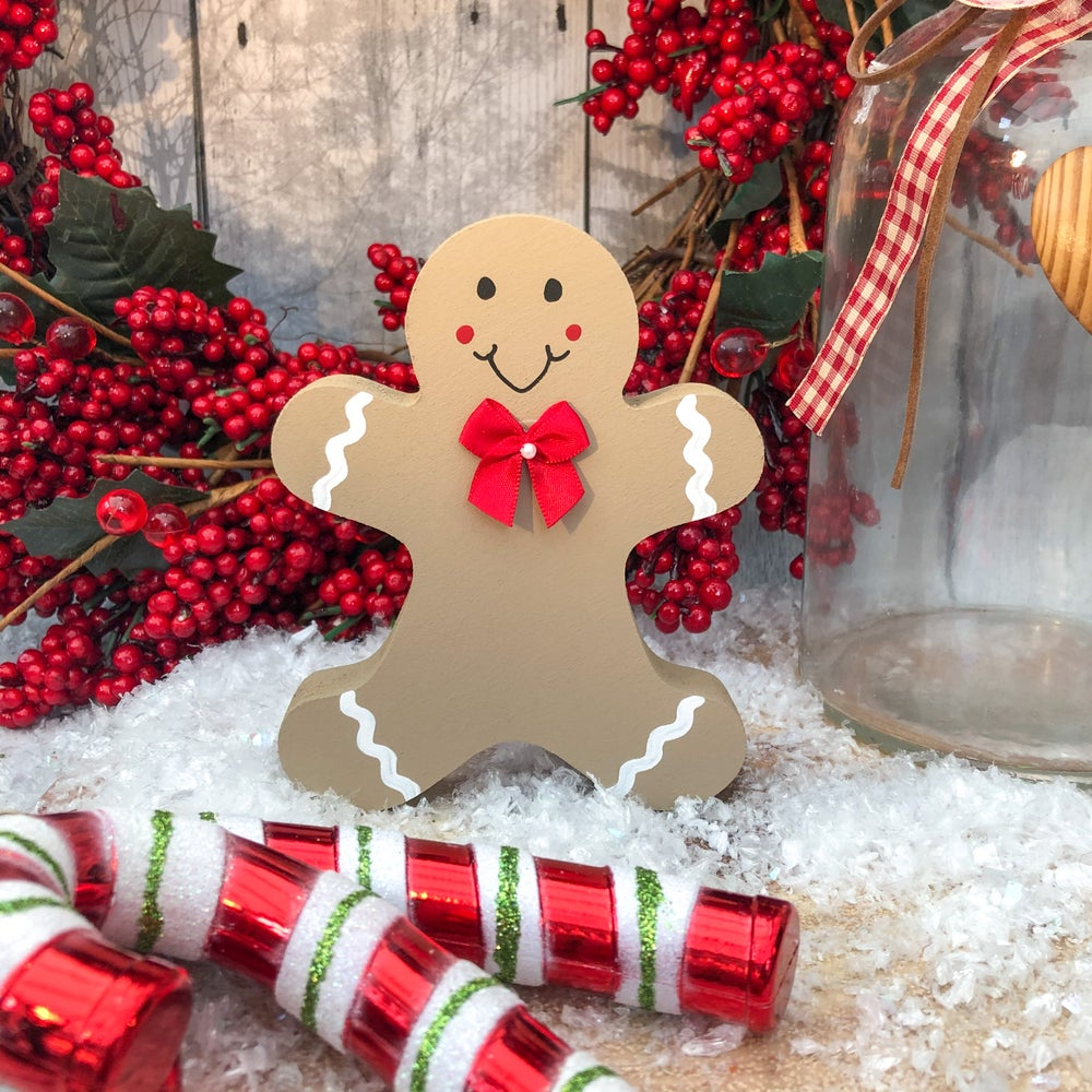 Image of Freestanding Gingerbread Man