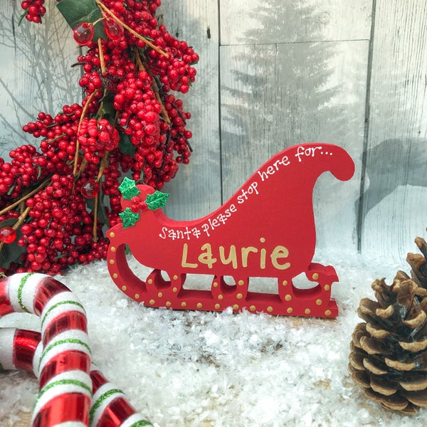 Image of Sleigh Decoration