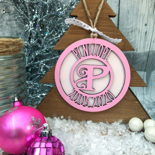 Image of New Baby Bauble (date of birth)