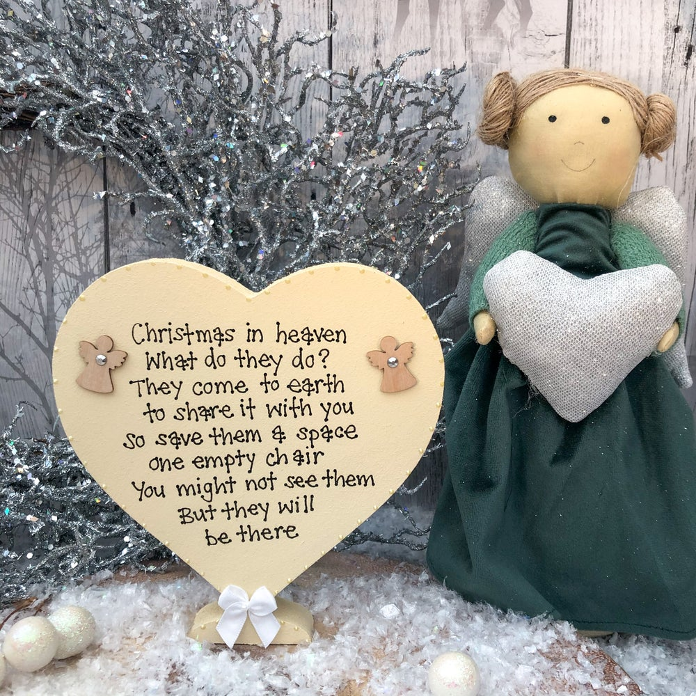 Image of Christmas in Heaven Heart