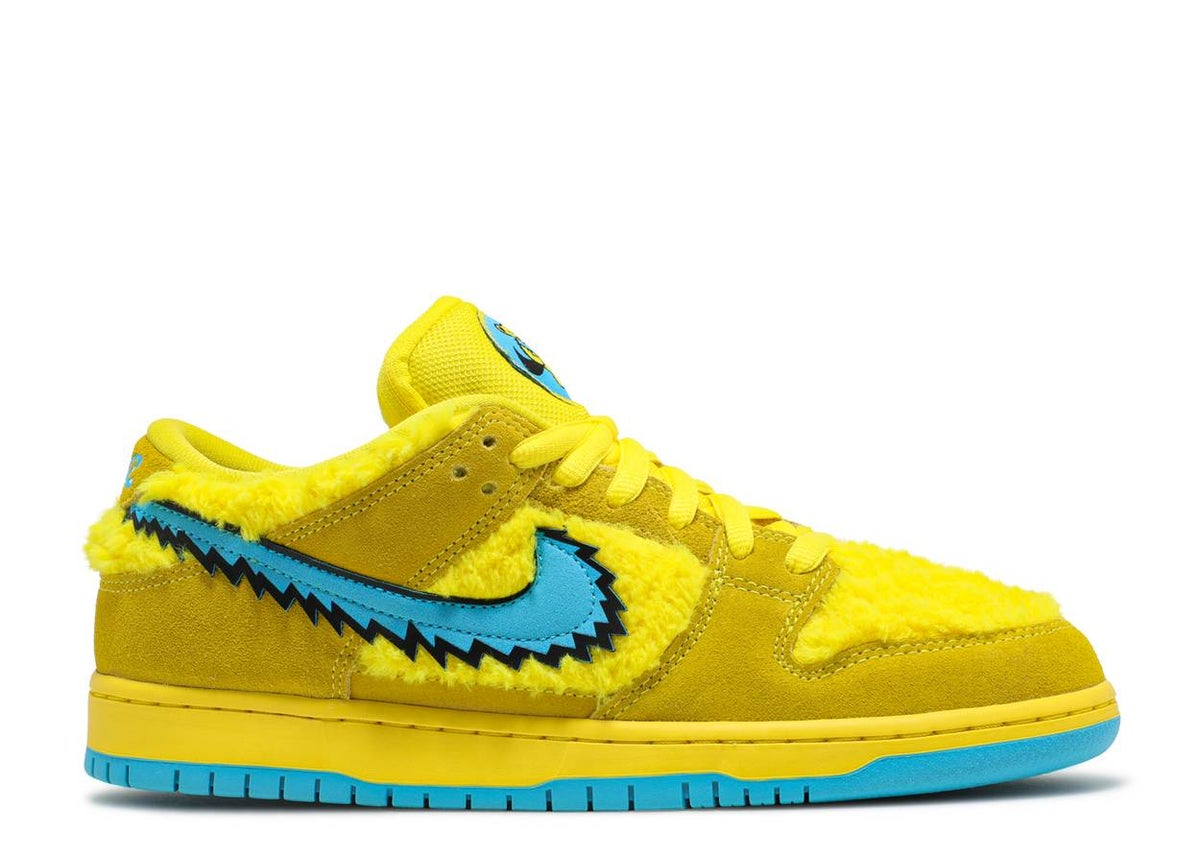 Image of GRATEFUL DEAD X DUNK LOW SB 'YELLOW BEAR'