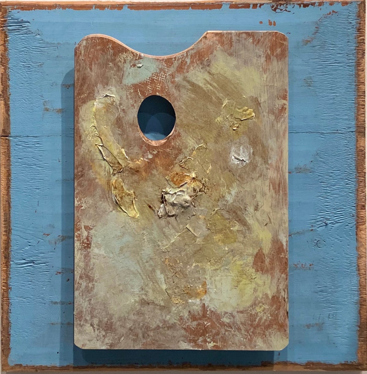 Image of Wood Panel Palette Small