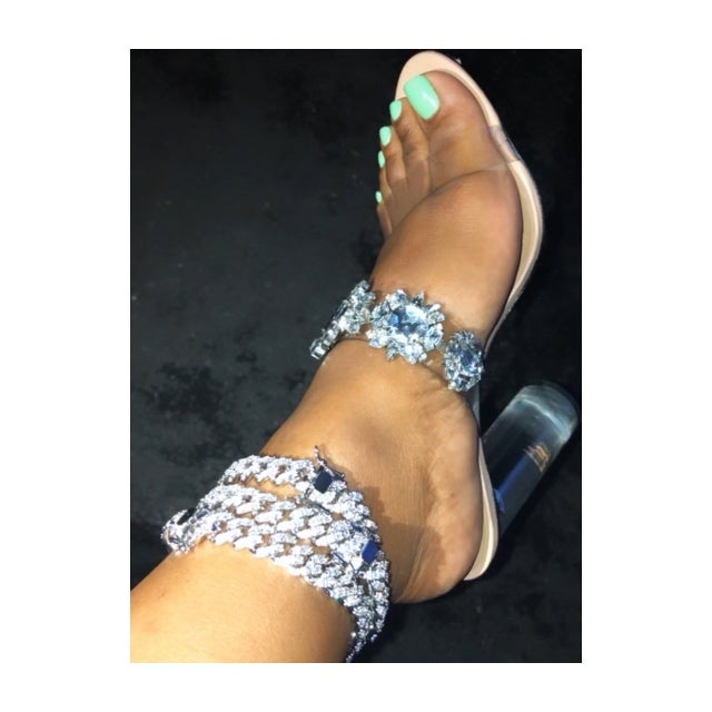 Image of Princess Kut Cuban Anklet
