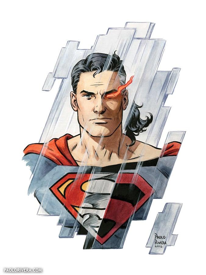 Image of Superman × 3