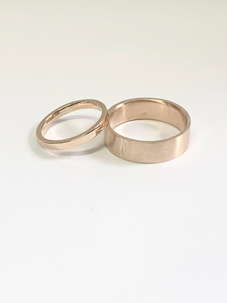 Image of Make your partners Wedding Ring - 9ct Gold