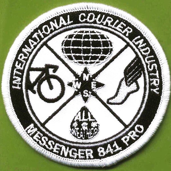 Image of Messenger 841 International Courier Patch and The Culture Of Messenger Bags II