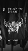 UNHOLY Death Metal Print Black Tote Bag