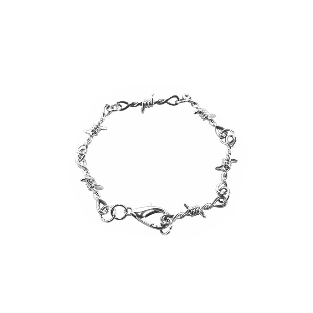 Image of No Trespassing Barbed Wire Bracelet