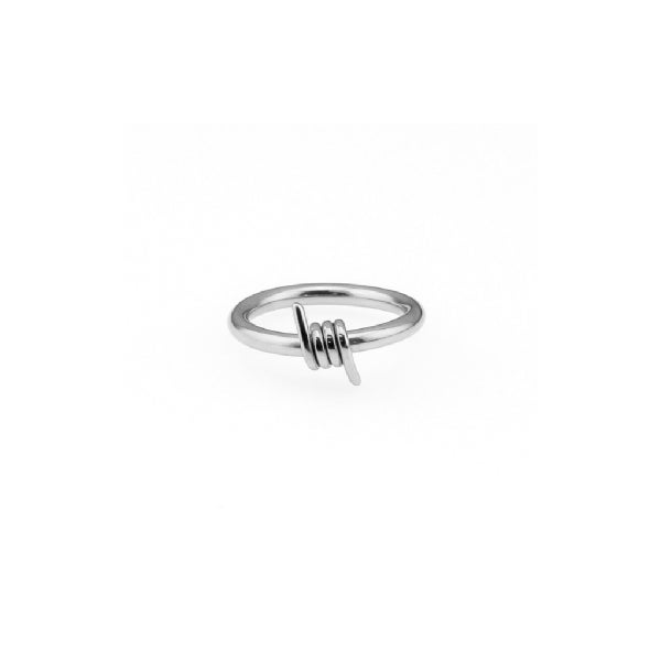 Image of No Trespassing Barbed Wire Ring (Stainless steel)
