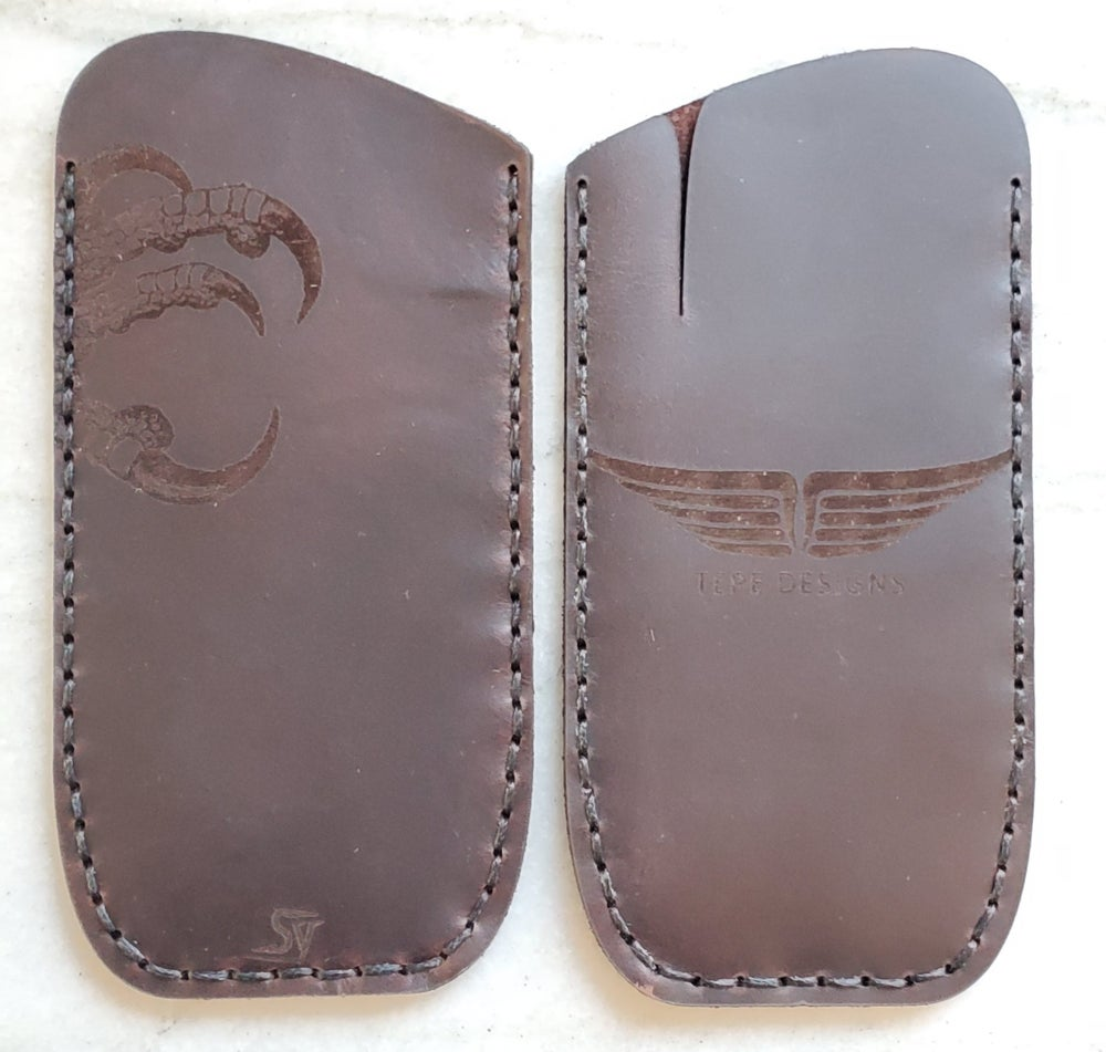 Image of Custom Leather Knife Slip