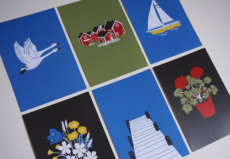 Image of Stockholm Archipelago - A5 Digital Prints