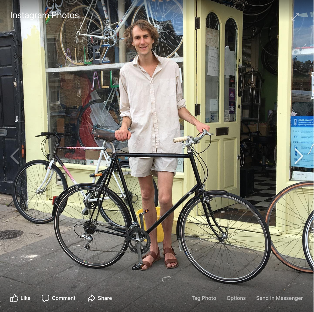 """Image of Raleigh 68 cm #531supertourist If you are 6,8"""" or there about this is the bike for you !"""