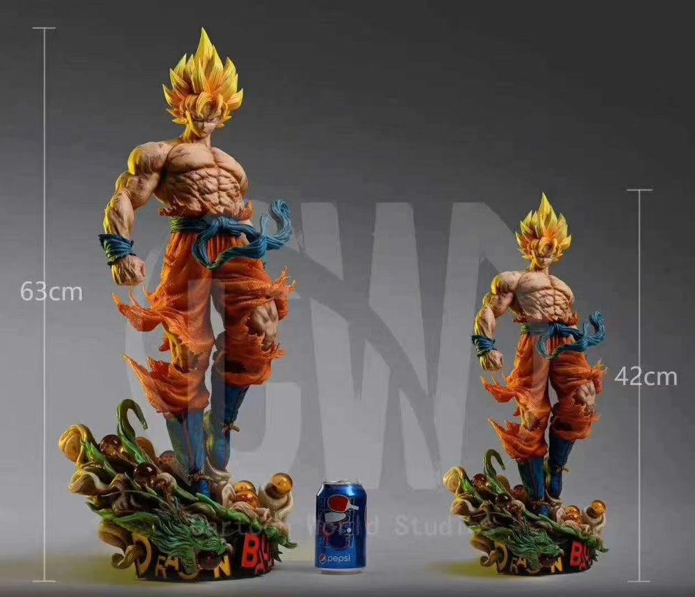 Image of [Pre-Order]Dragon Ball Z CW Studio Goku Resin Statue