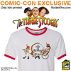 The Three Stooges - The New Three Stooges Cartoon Ringer Shirt