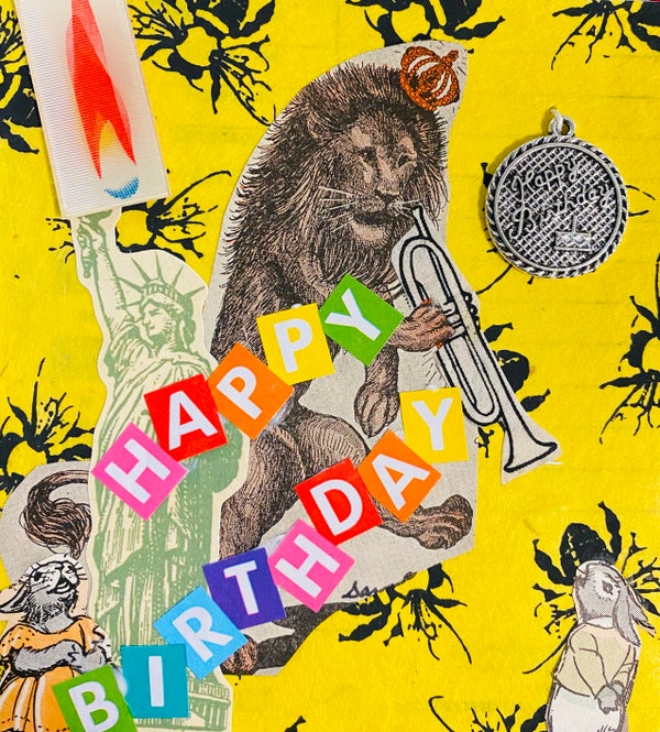 Image of Lion Birthday