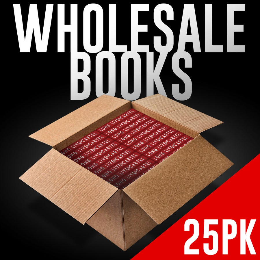 Image of WHOLESALE LONG LIVE THE CARTEL (25 books)