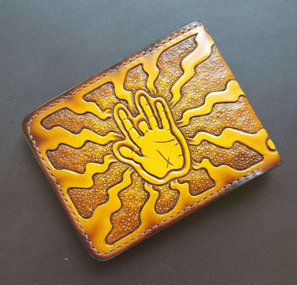Image of Steal Your Face / JG Hand Splat Rays Billfold