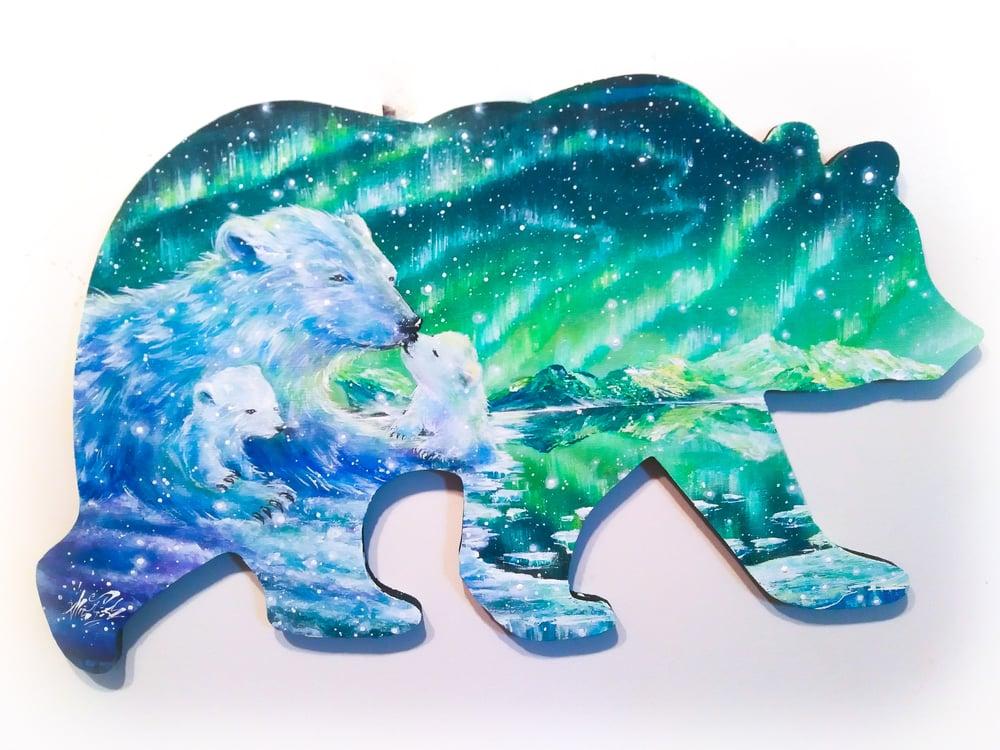 "Image of ""Arctic Circle"" Original Painting"
