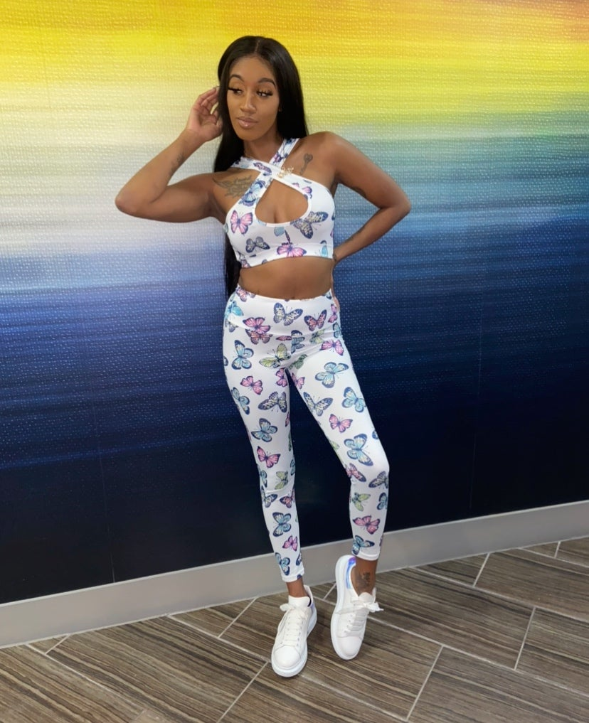 Image of Butterfly | Pants Set