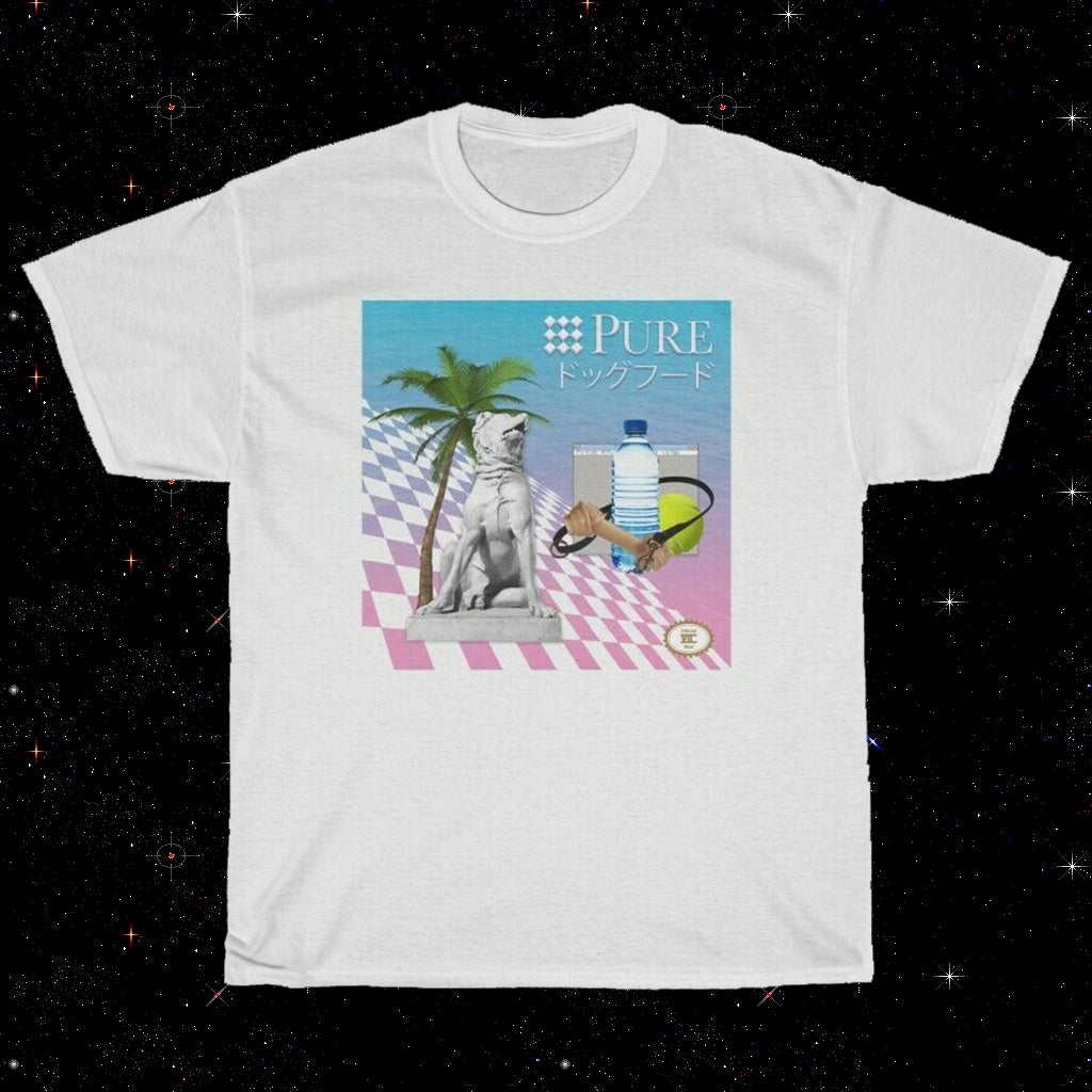 PUREドッグフード VAPORWAVE AESTHETIC - T-SHIRT