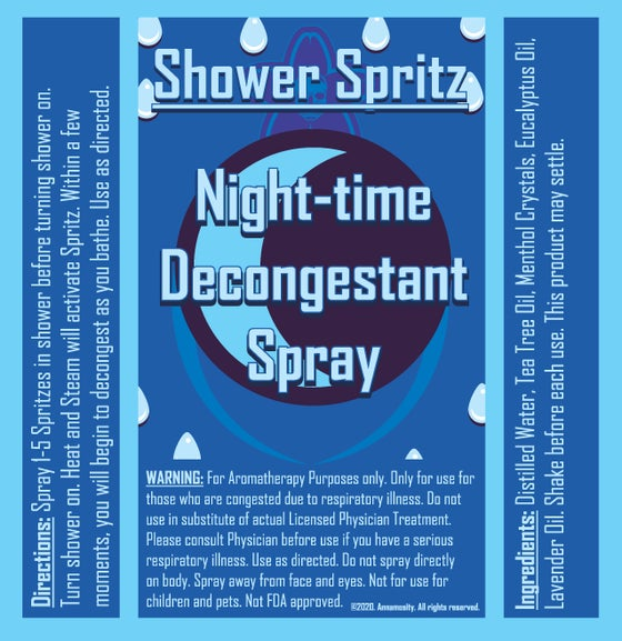 Image of Shower Spritz - Night-time Decongestant