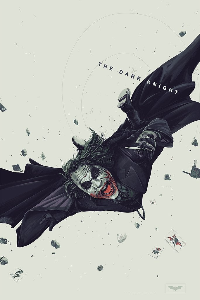 "Image of ""The Dark Knight"" Variant Edition Artist Proof"