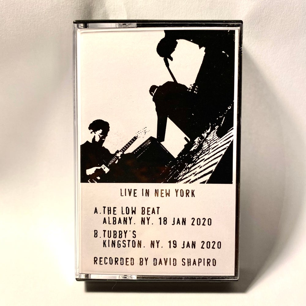 "Image of Center - ""Live in New York"" Cassette"