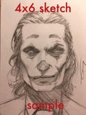 "4x6"" Pencil Sketch Commission"