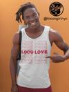 UNISEX Locs Of Love Tank Top