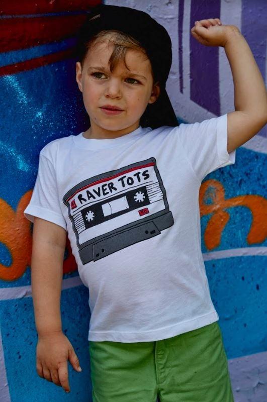 Raver Tots Tape Casette T-Shirt