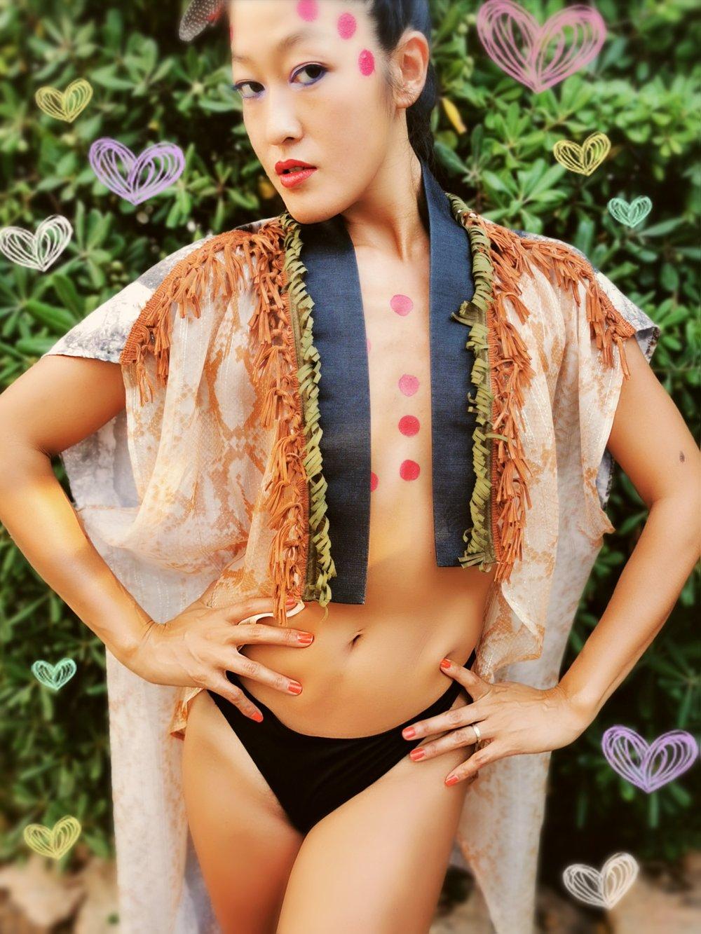 Image of Rebirth Silk Kimono