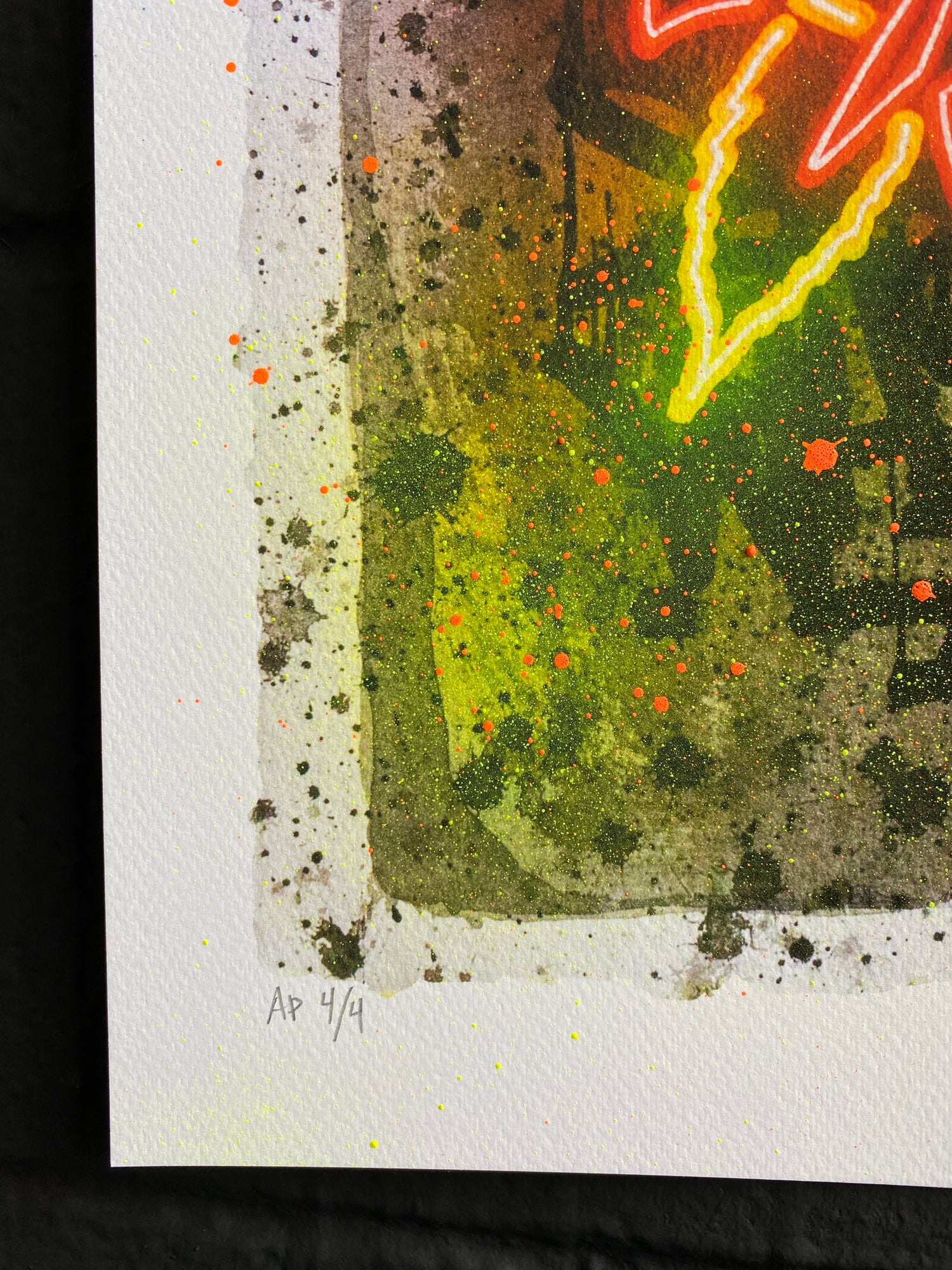 Image of THERE IS A WORLD ELSEWHERE  Hand embellished Artist Proof Gicleé print #4/4