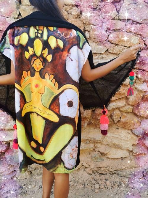 Image of Pom-pom Peyote Caftan