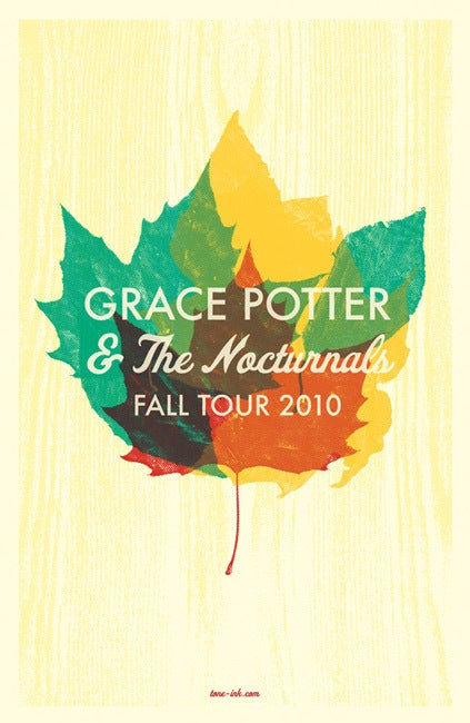 Image of Grace Potter & The Nocturnals - Fall Tour 2010 #2