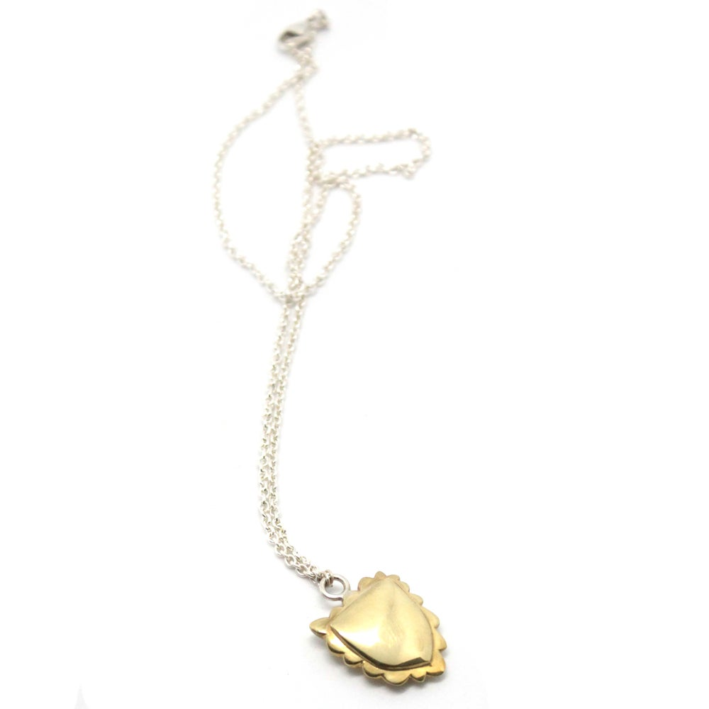 Image of CHUBBY CREST NECKLACE