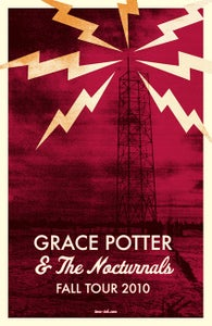 Image of Grace Potter & The Nocturnals - Fall Tour 2010 #3