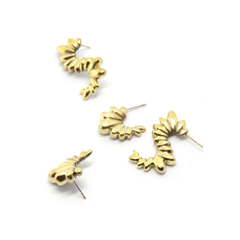 Image of CHUBBY CRAWLER EAR RINGS