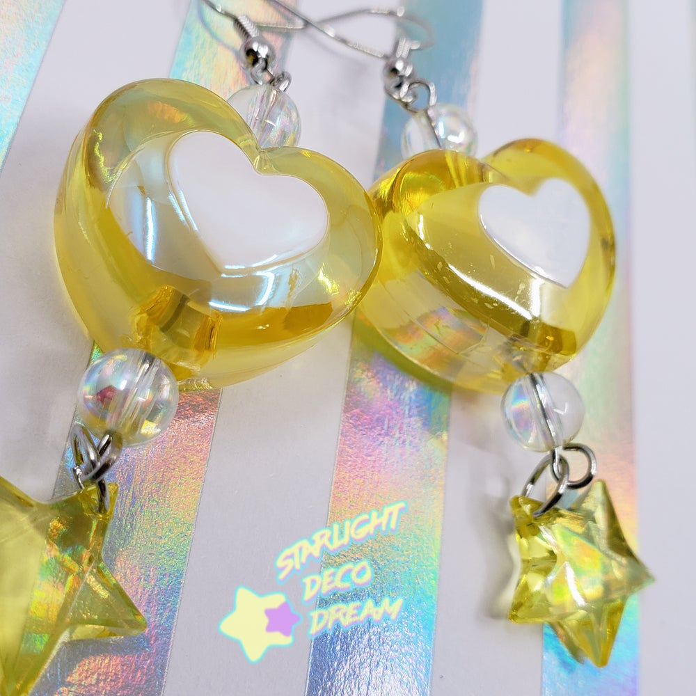 Image of Charmingly Chubby Heart Earrings Selection 1 / Choose a Pair