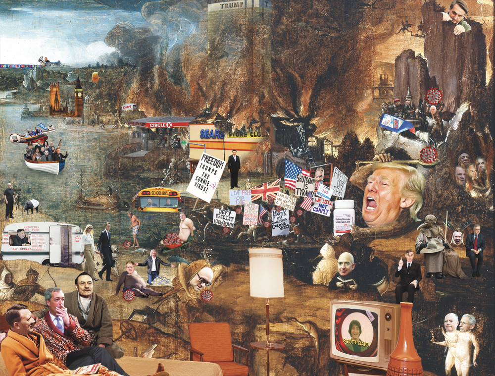Image of Trumpscape Jigsaw