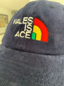 Image of Wales is Ace Heritage Cord Cap Navy