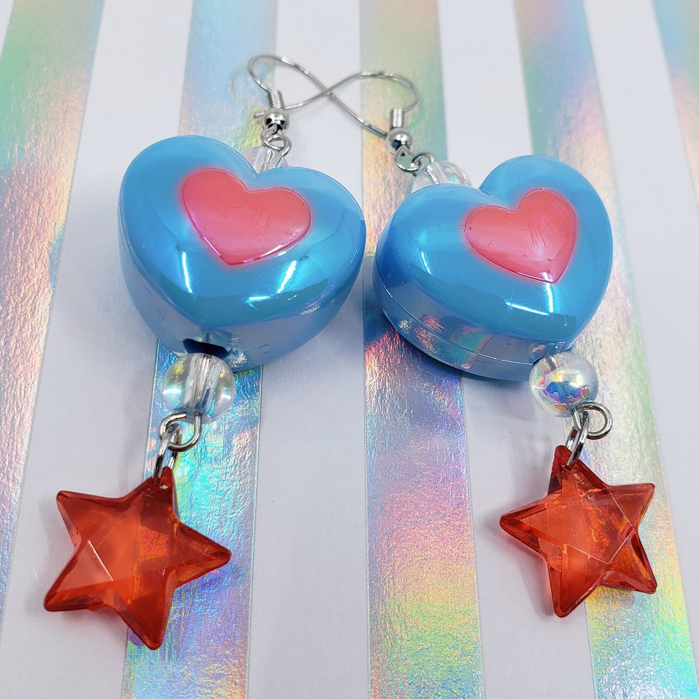 Image of Charmingly Chubby Heart Earrings Selection 2 / Choose a Pair