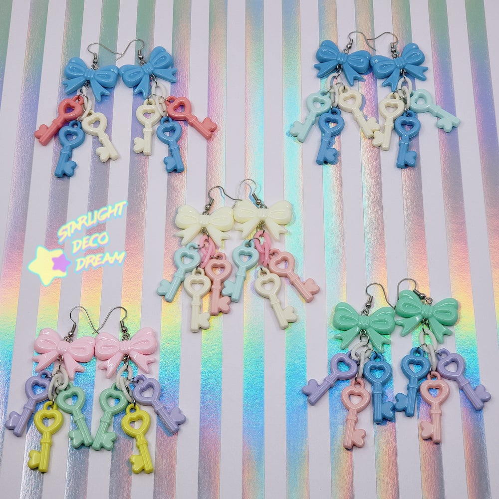Image of Precious Pierce Toy Key Earrings / Choose a Pair