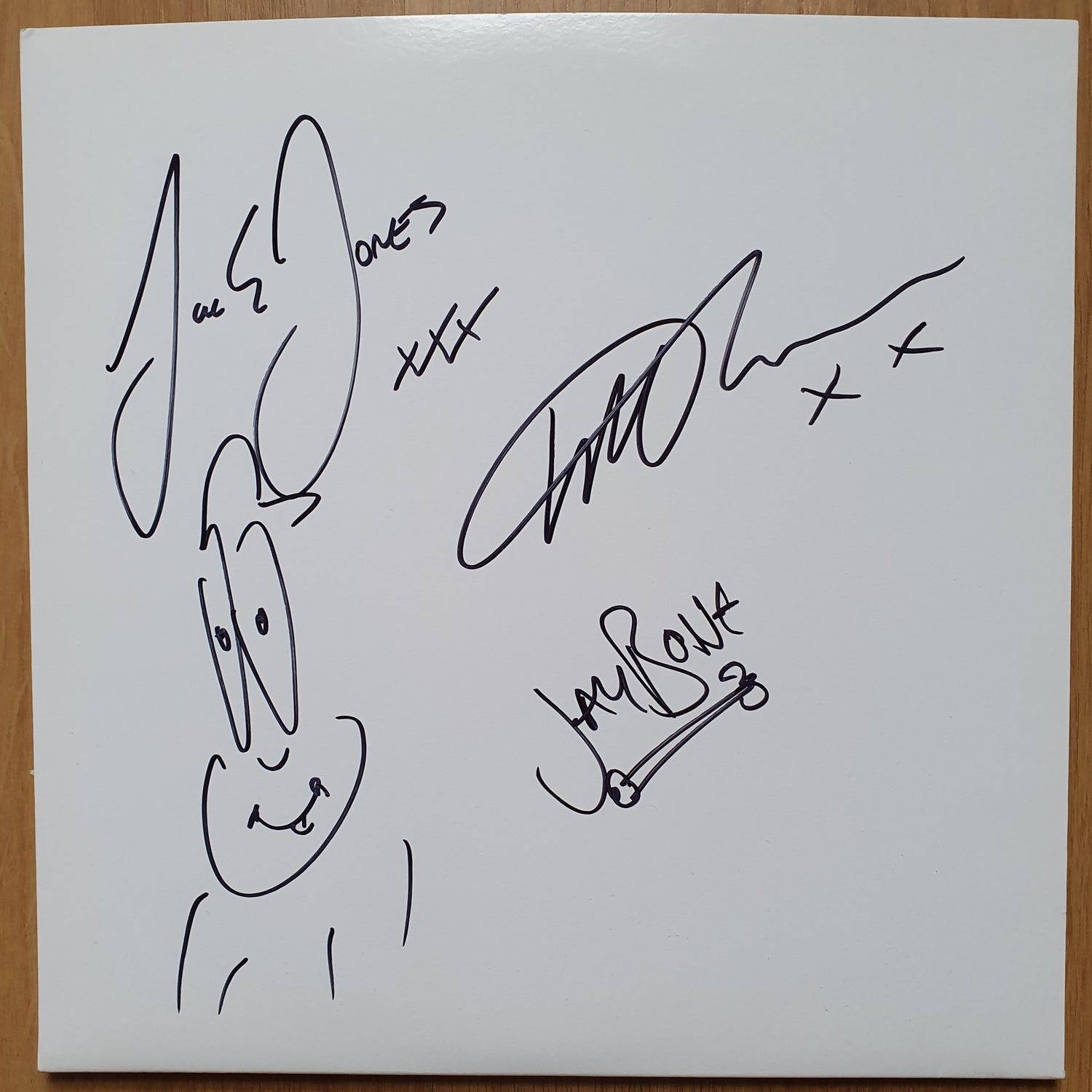 Image of VERY RARE Test Pressing Pick a Pocket or Two signed
