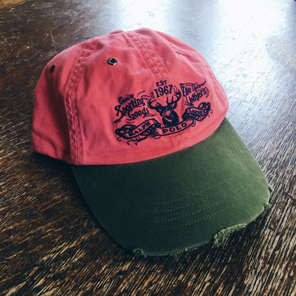Image of Original Vintage Polo Sporting Goods Strapback Hat.
