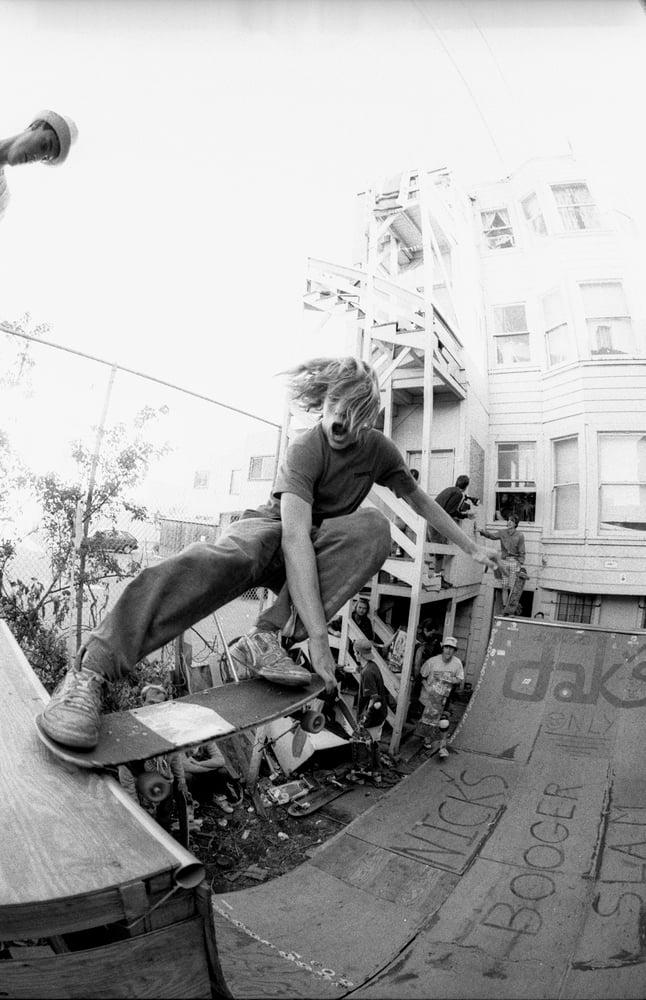 Wheat berry South park, San Francisco 1989 By Tobin Yelland