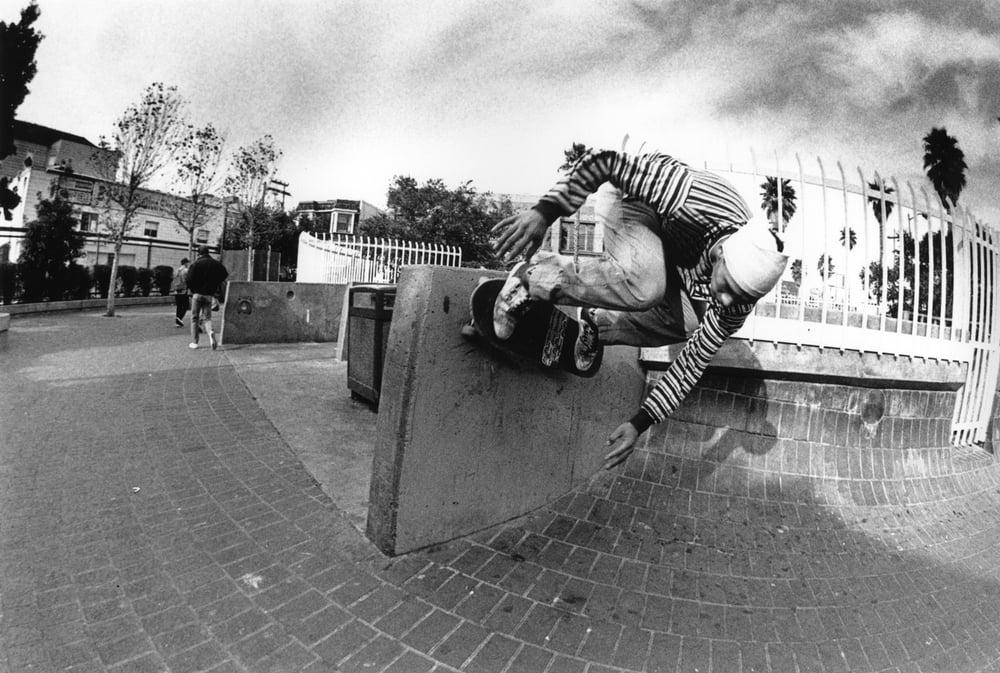 Mickey Reyes, 24th and Mission, San Francisco 1989 by Tobin Yelland