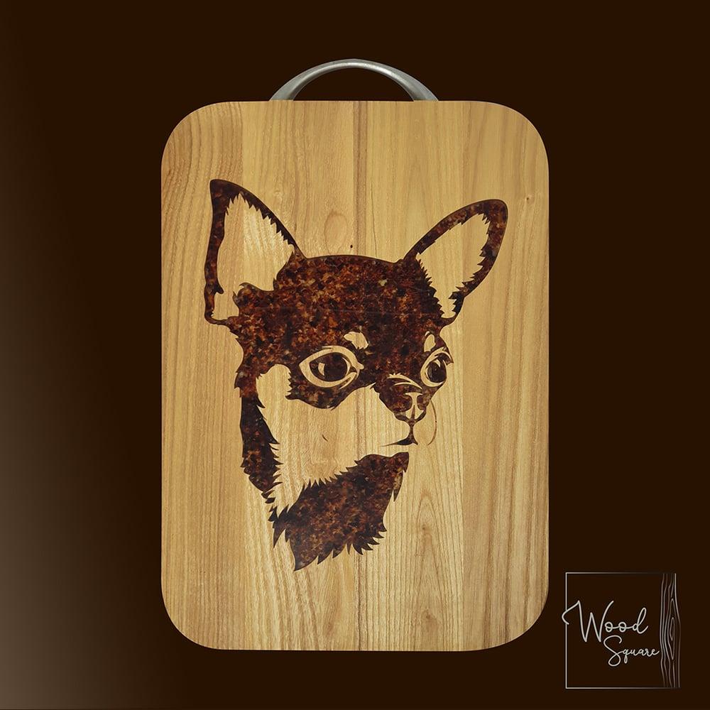 Image of Chihuahua chopping board